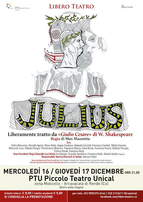 julius piccolo teatro unical