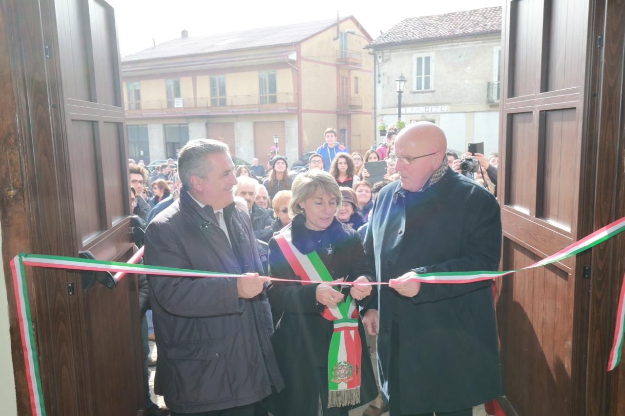 oliverio inaugurazione museo decollatura