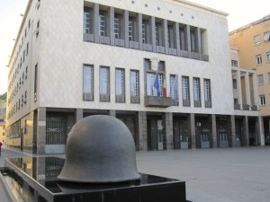 Palazzo dei Bruzi, Piazza dei Bruzi, 1959