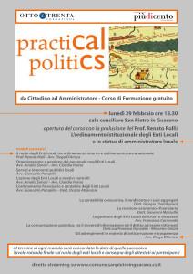 Pratical Politics (Corso Formazione)