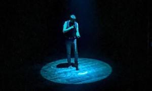 Teo Mammucari palco