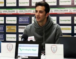 Francesco Di Nunzio Ph. Pagina Facebook del Cosenza Calcio