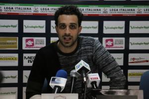 Andrea Arrighini interviste Cosenza - Juve Stabia