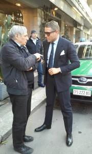 Don Ciotti e Lapo Elkann
