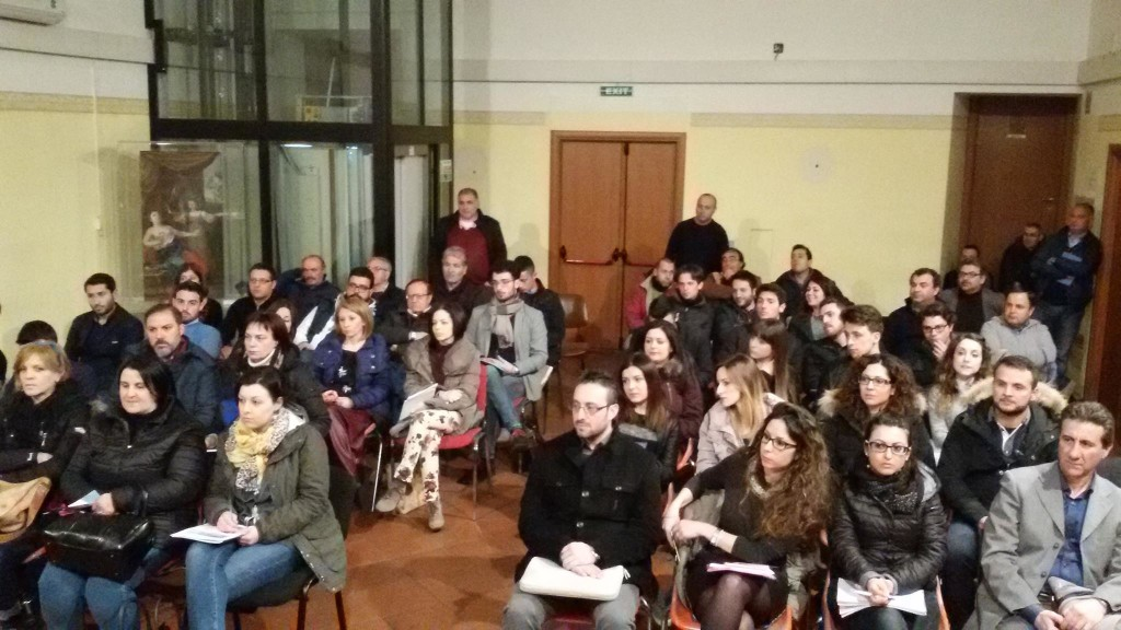 Discenti presenti alla prima lezione