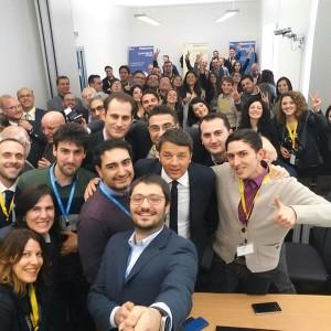 Il selfie con i ricercatori dell'Unical