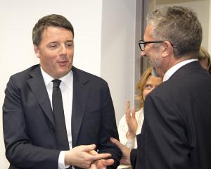 Il saluto al candidato a sindaco di Cosenza Lucio Presta