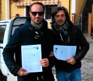 Da sx Vincenzo Marino e Domenico D'Agostino
