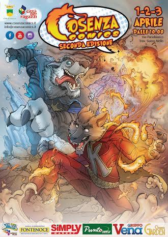 locandina Cosenza Comics