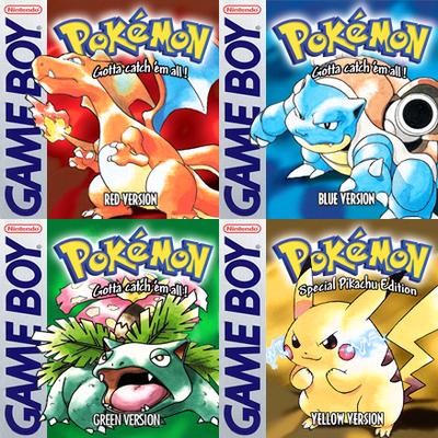 pokemon vari colori