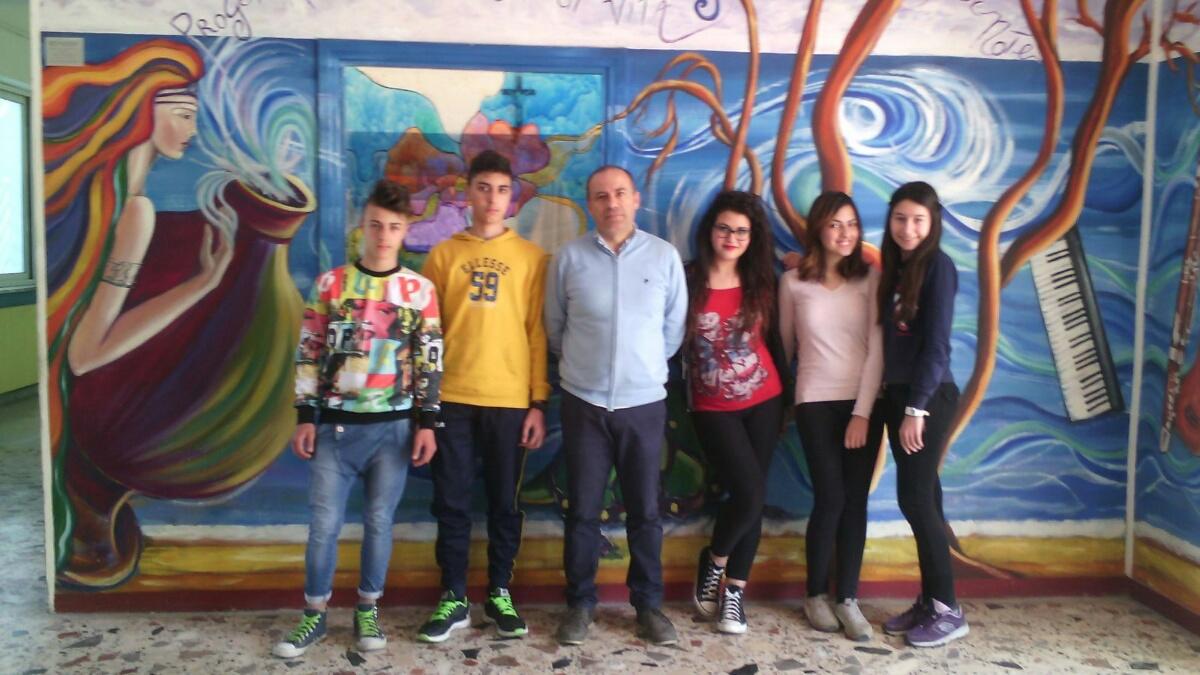 CROSIA studenti e prof. D'Elia pronti per Cesena
