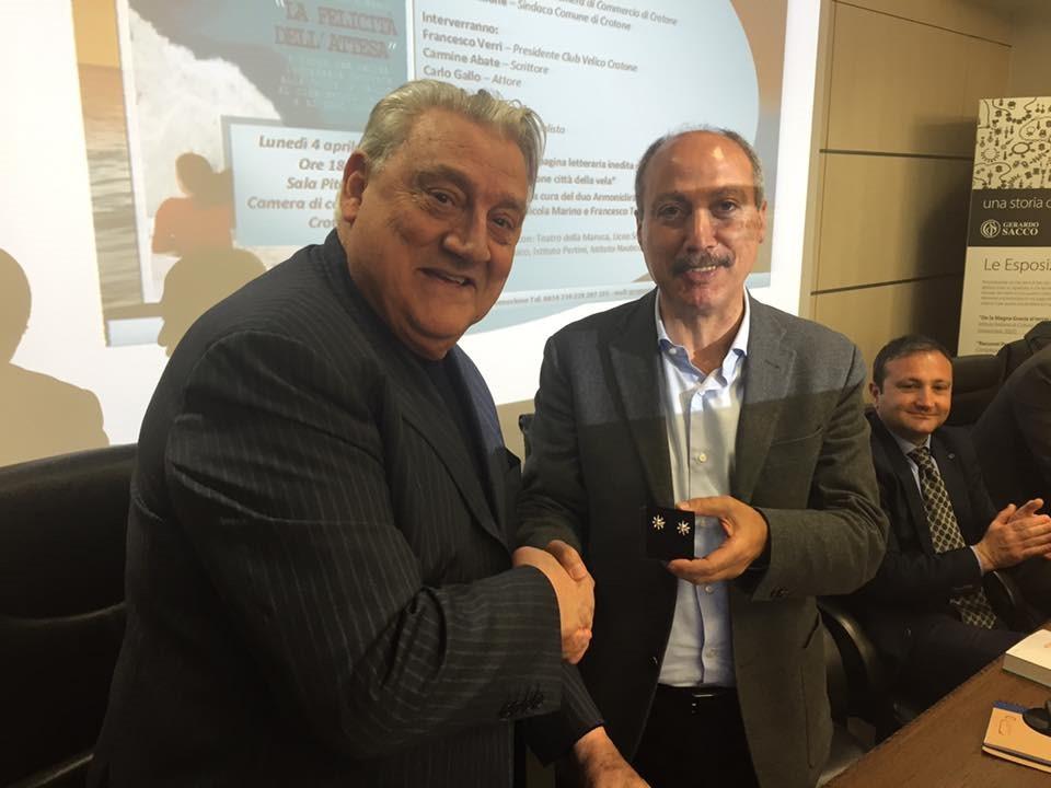 Gerardo Sacco e Carmine Abate