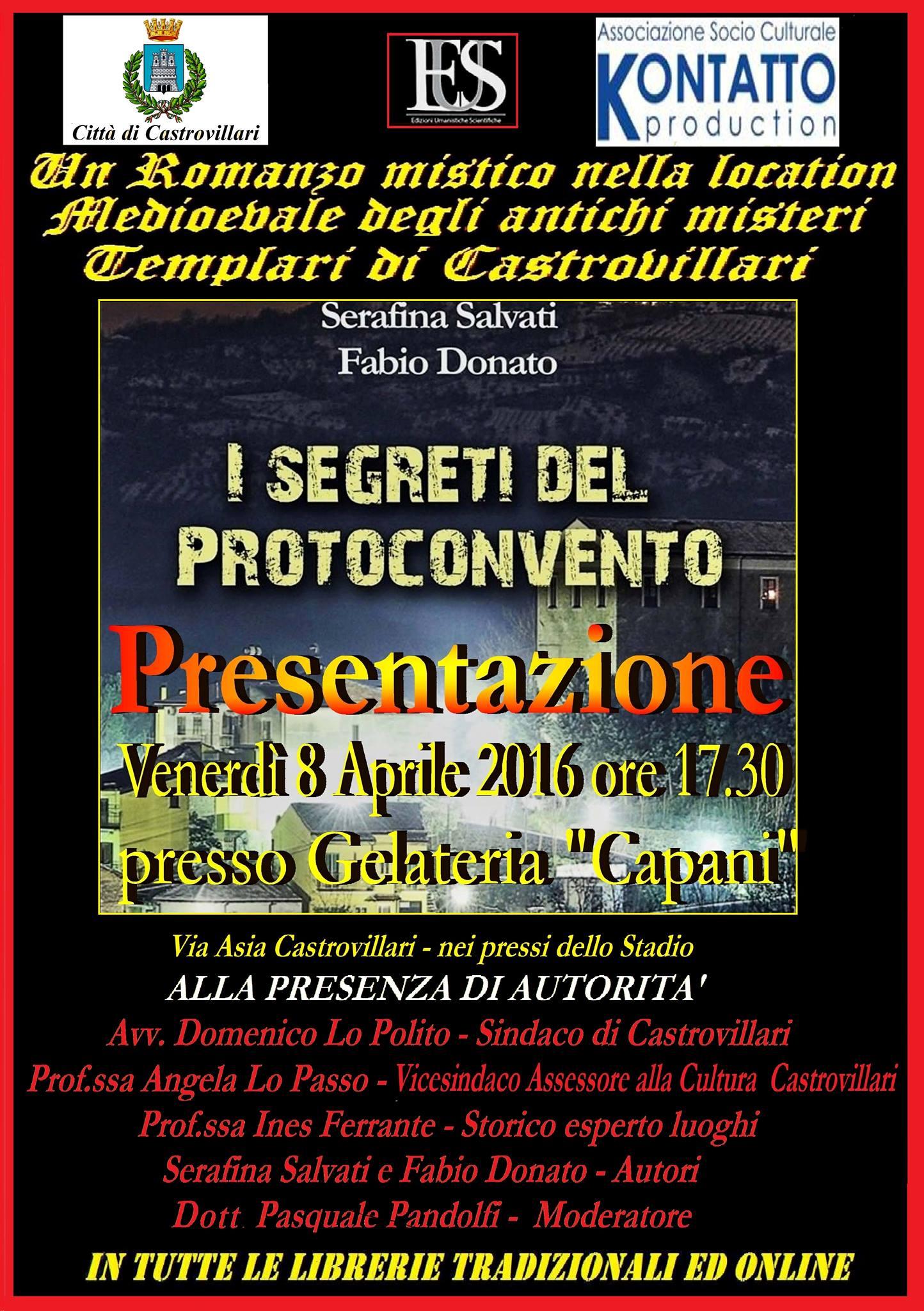 Libro Fabio Donato Serafina Salvati