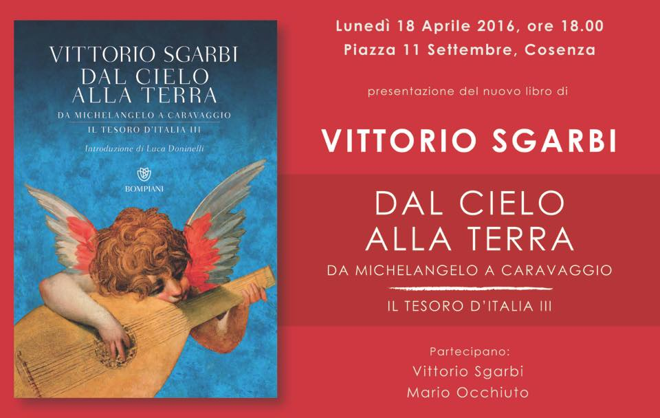 Locandina_Sgarbi presenta il suo libro a Cosenza