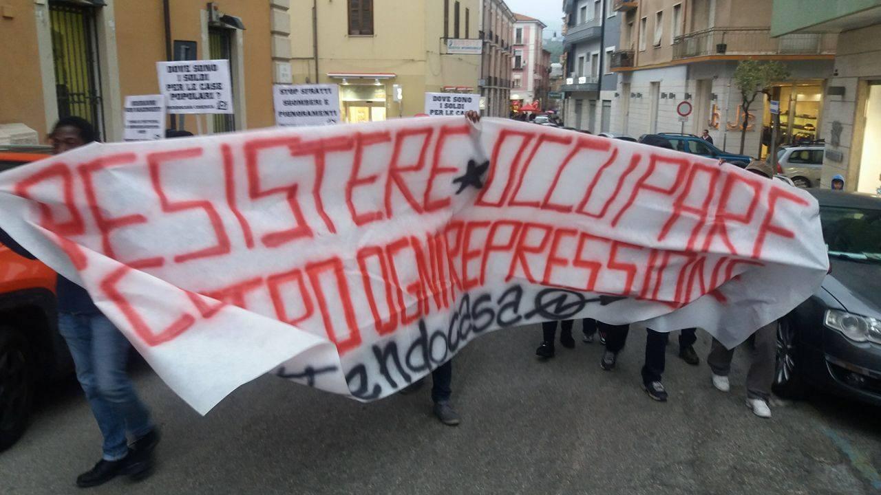 Protesta Prendo casa