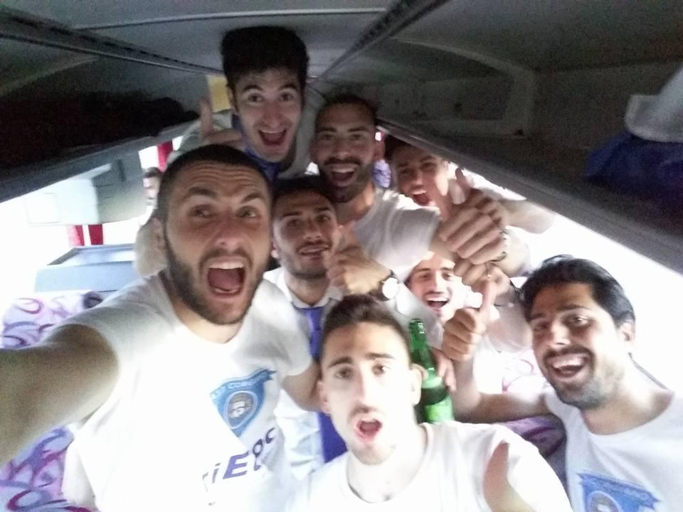 Selfie Vittoria Campionato Corigliano
