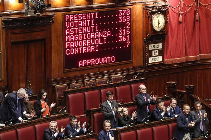 ++ Riforme: Camera approva ddl con 361 sì e 7 no ++