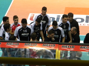 durante un time out