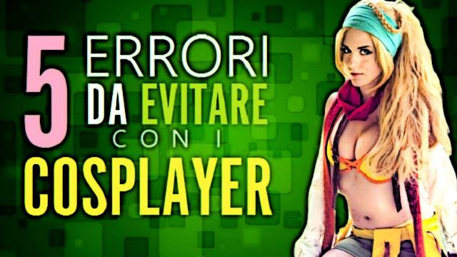 errori con i cosplayer dado