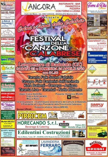 festival_canzone_calabrese_Badolato_locandina
