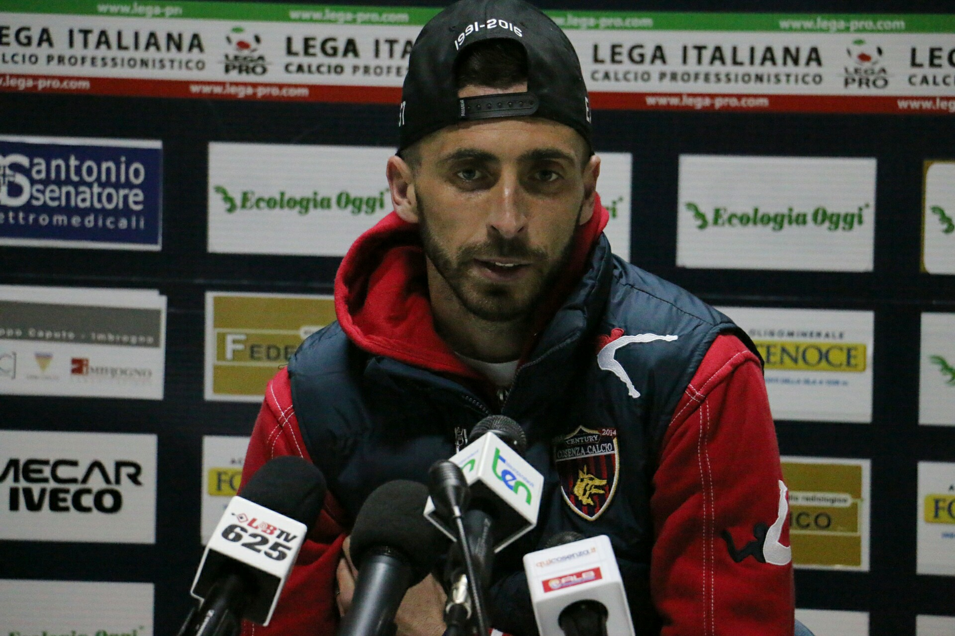 Giovanni Cavallaro Intervista Cosenza – Benevento