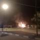 incendio gommista via Pomponio Leto