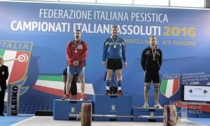 Mannella Oro 77 Kg Campionati Italiani Assoluti 2016