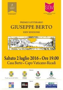 Premio Berto - locandina
