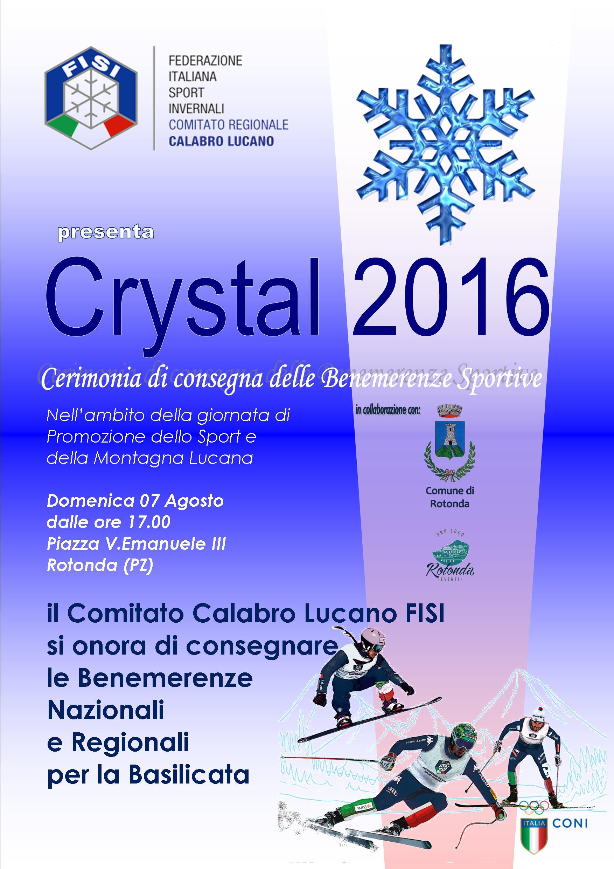Crystal 2016 BASILICATA