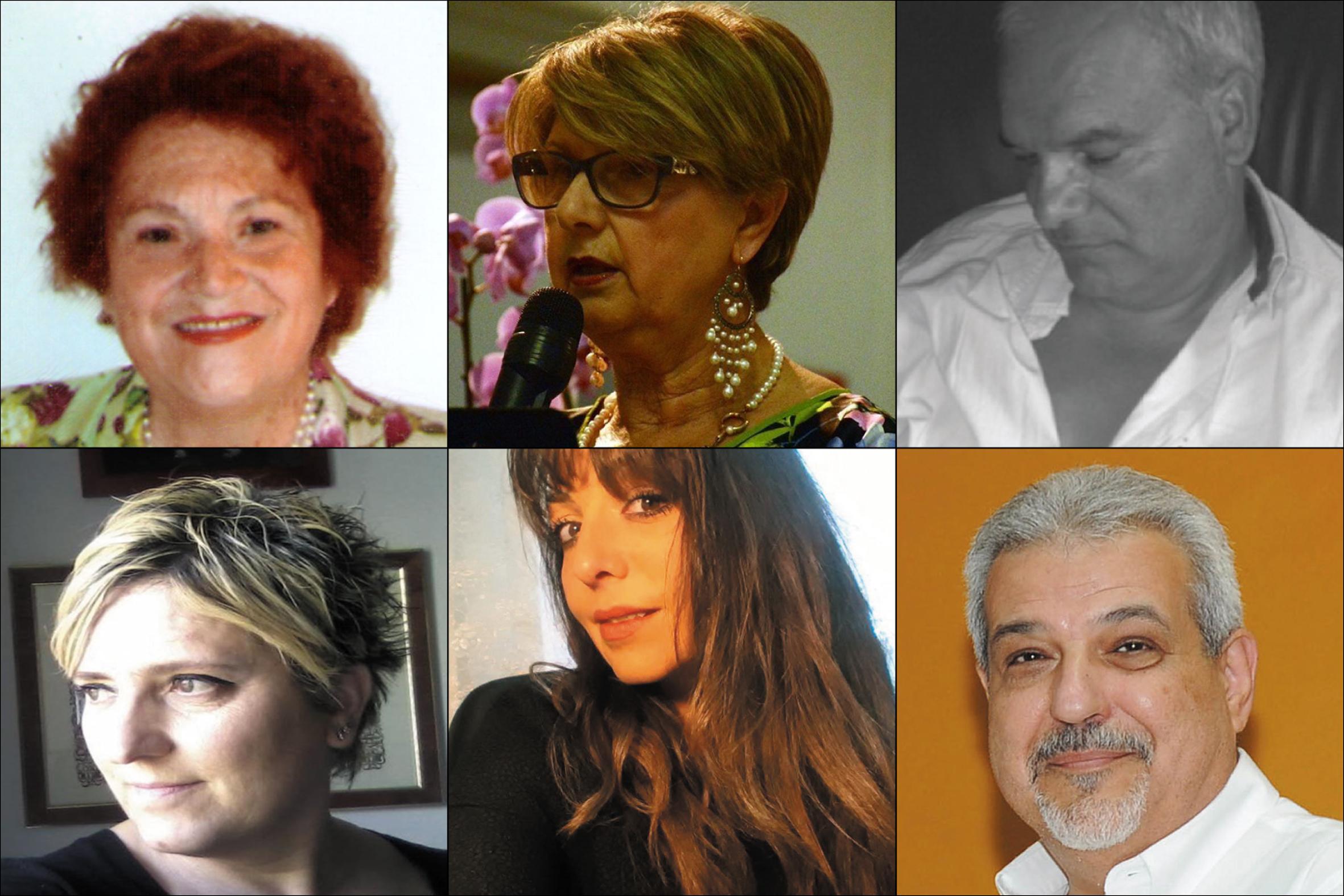 Da sopra – Campisano Cancemi, Cavallo, De Rosa, Giorgi, Pascasi, Pedatella