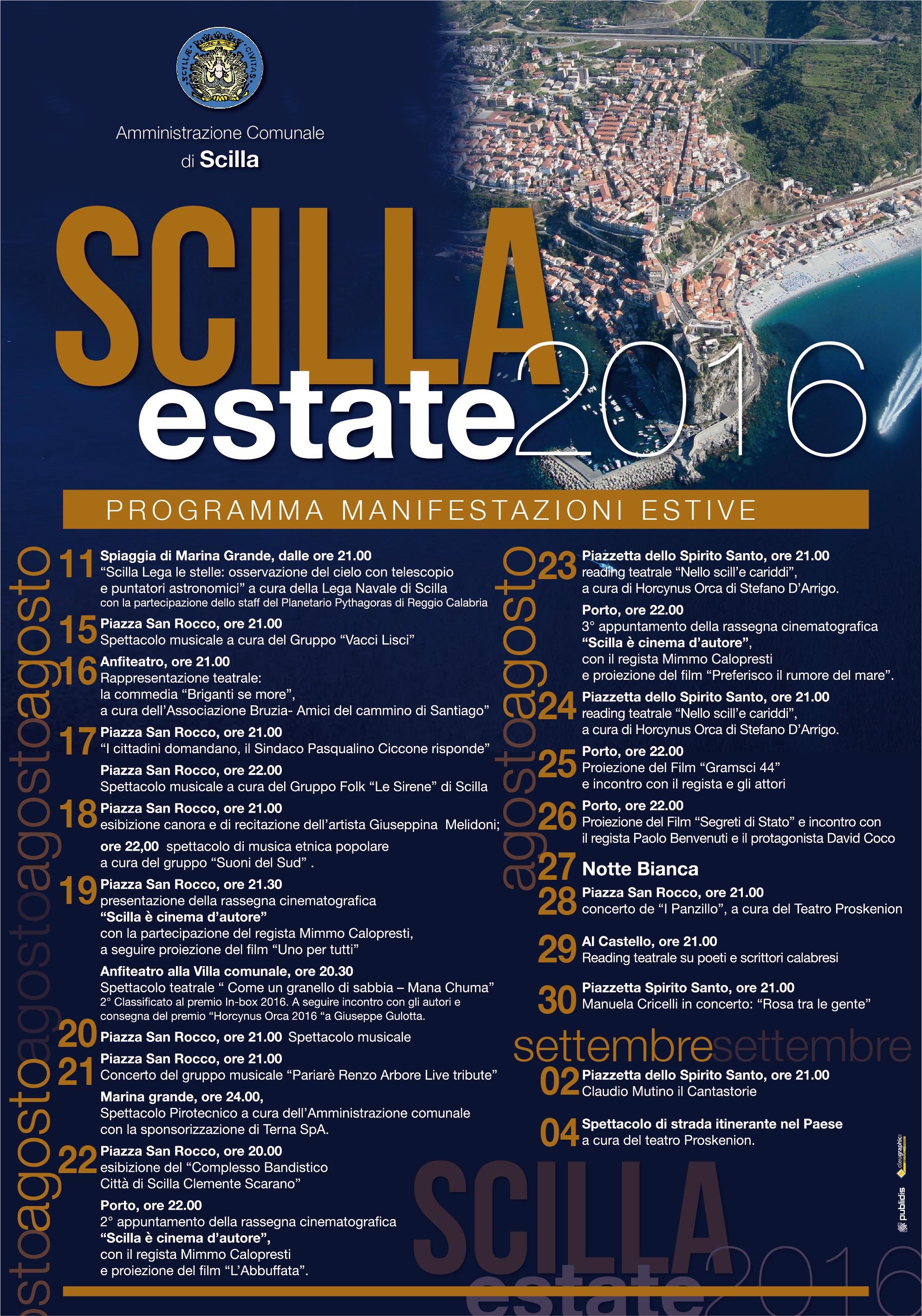 SCILLA estate2016