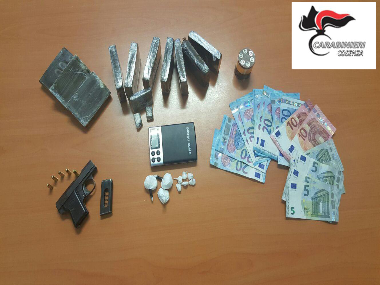 Sequestro armi e droga carabinieri