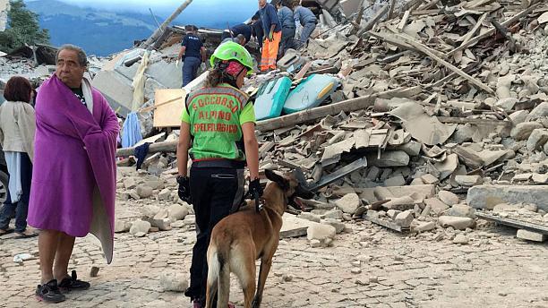 Terremoto rieti centro italia
