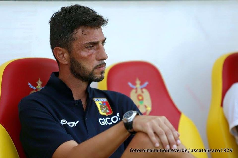 Giulio Spader (Facebook Catanzaro Calcio)