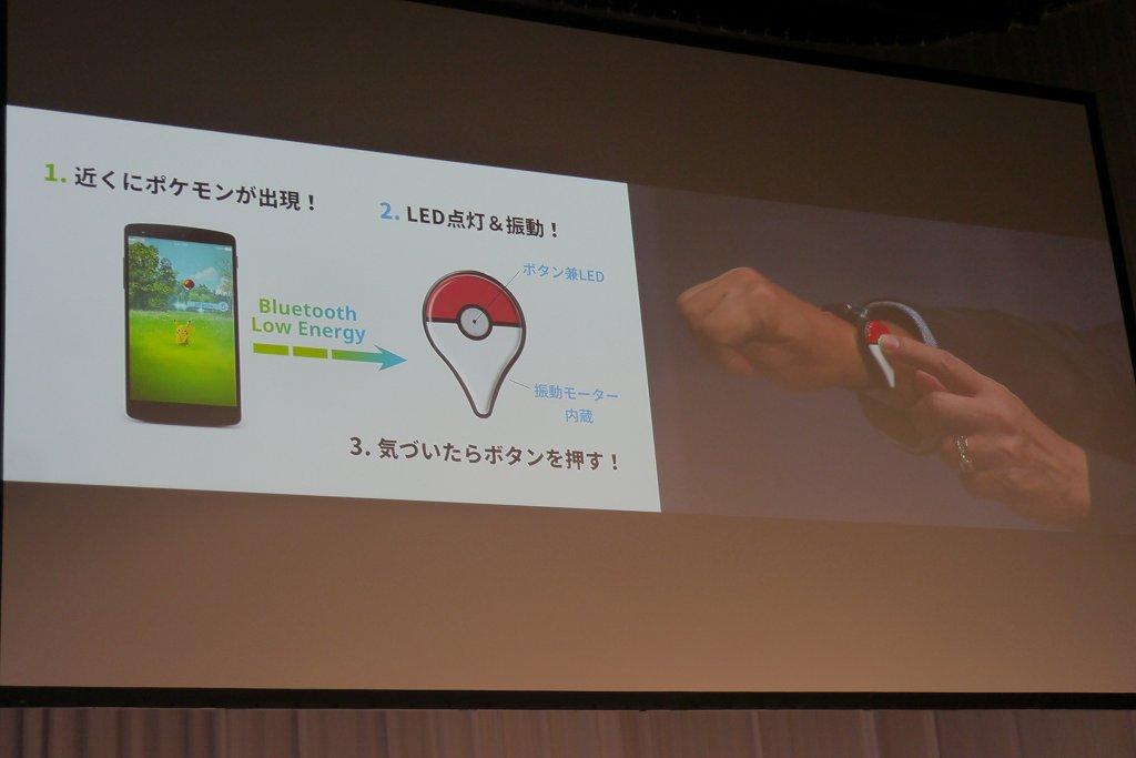 presentazione pokemon go plus