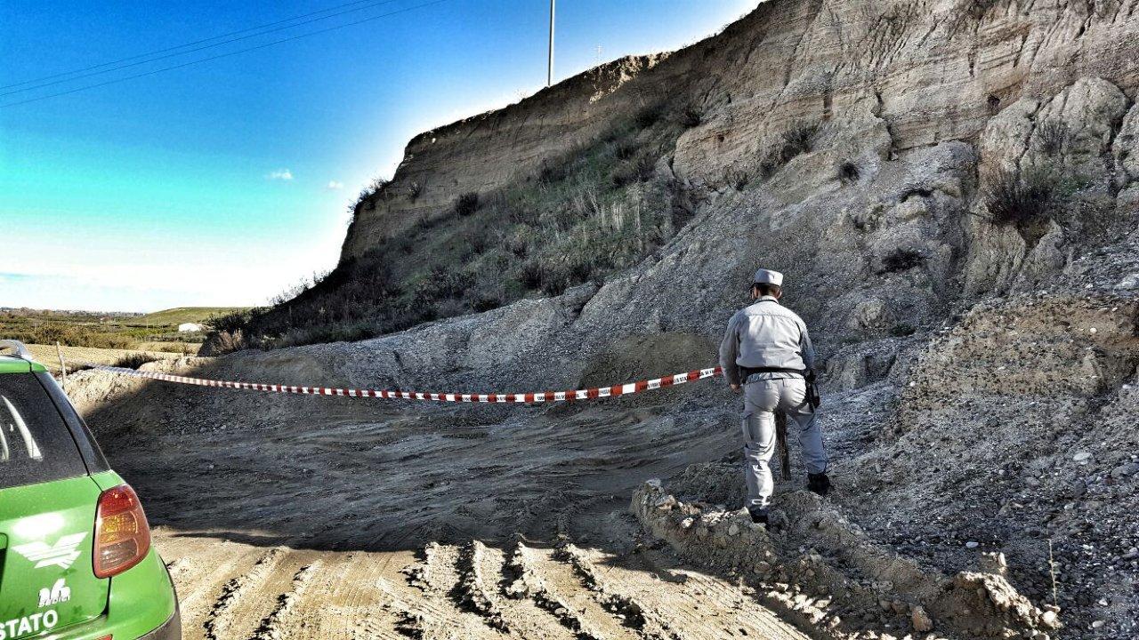 Terranova da sibari sequestrata cava dismessa for Comune di terranova da sibari