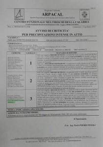 Bollettino Arpacal