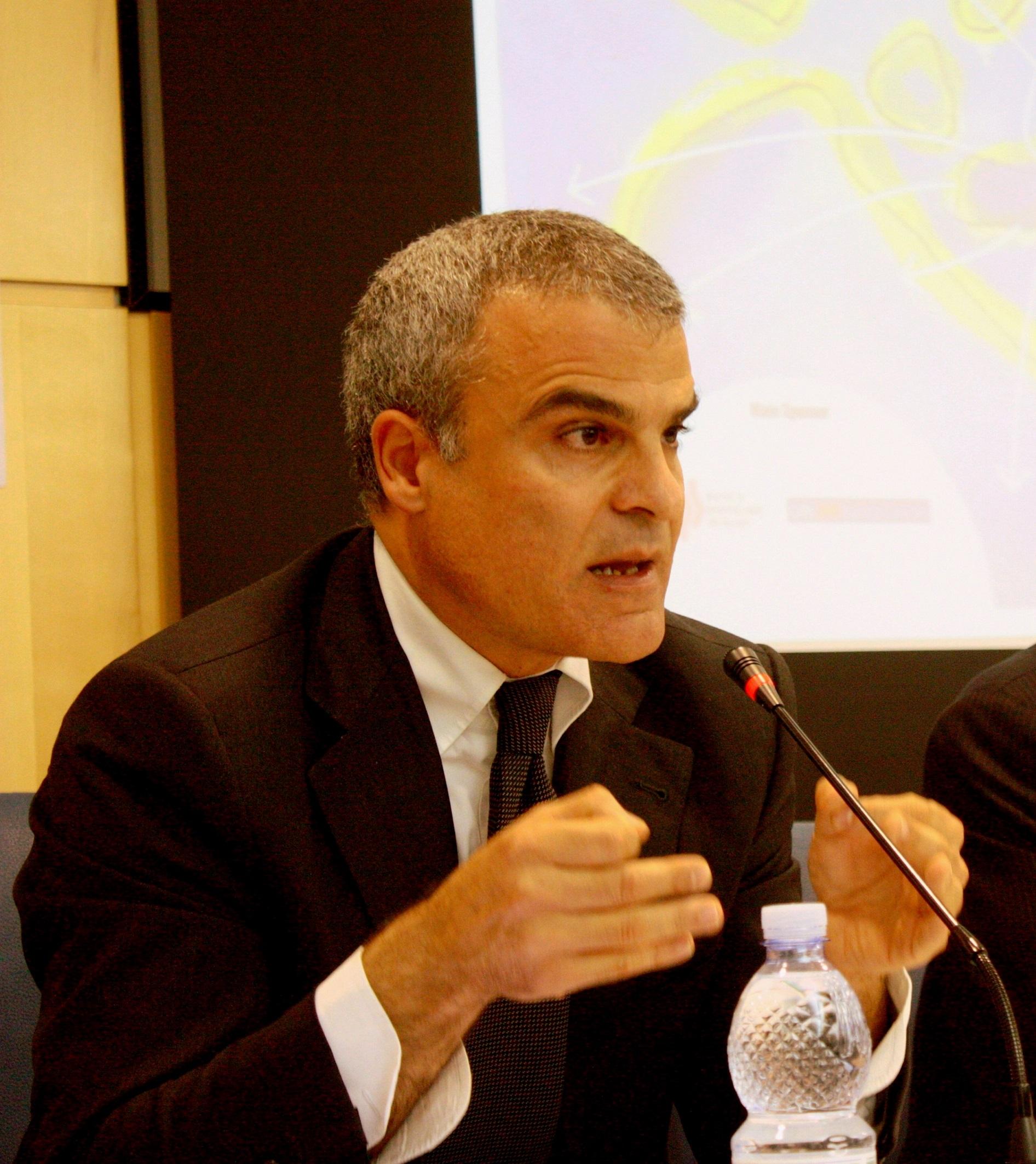Il Presidente di Unindustria Calabria, Natale Mazzuca
