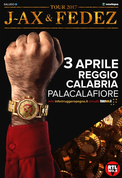 J-AX & FEDEZ manifesto Reggio