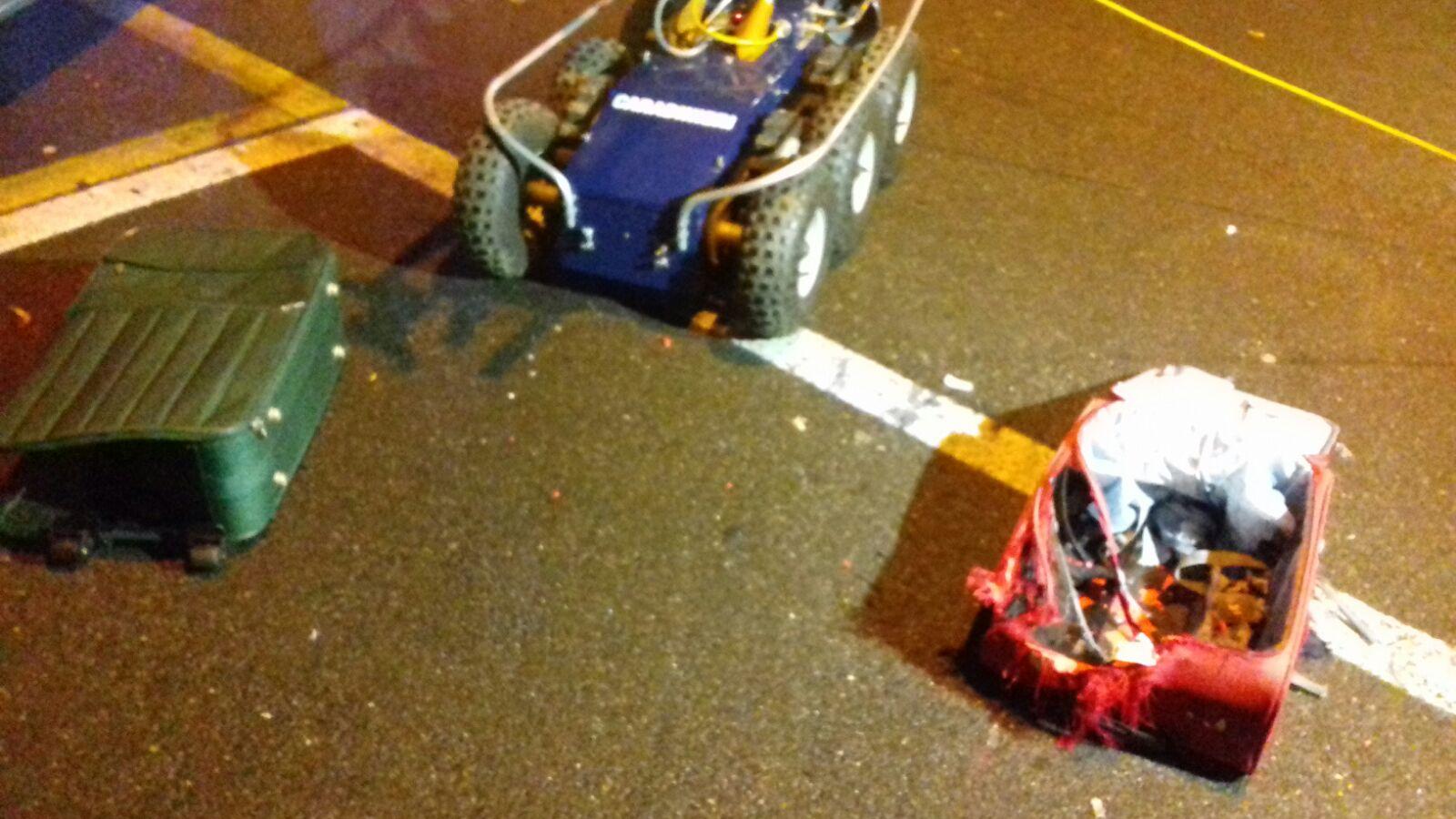 trolley e robot