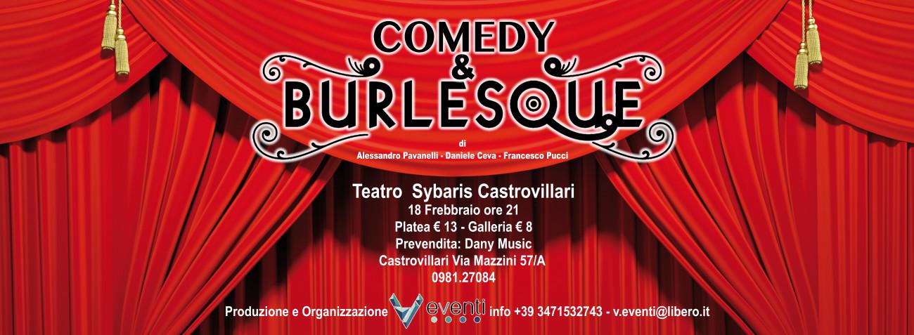 Comedy Burlesque-