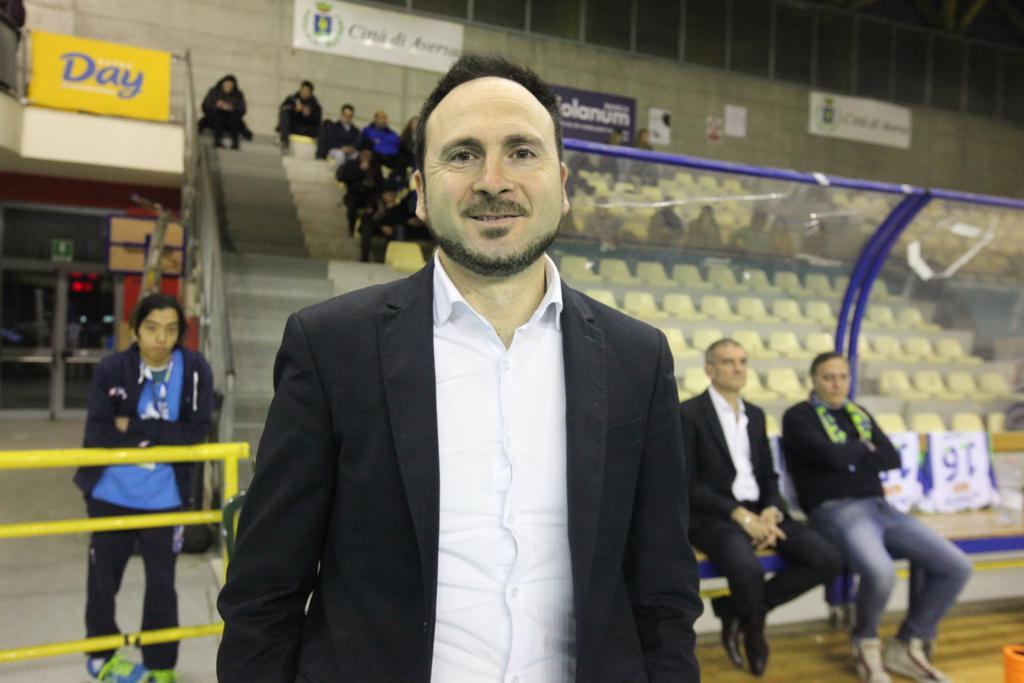 L'allenatore Pasquale Bosco