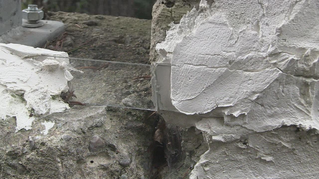 Vetrino spia muro Mariano Santo 2