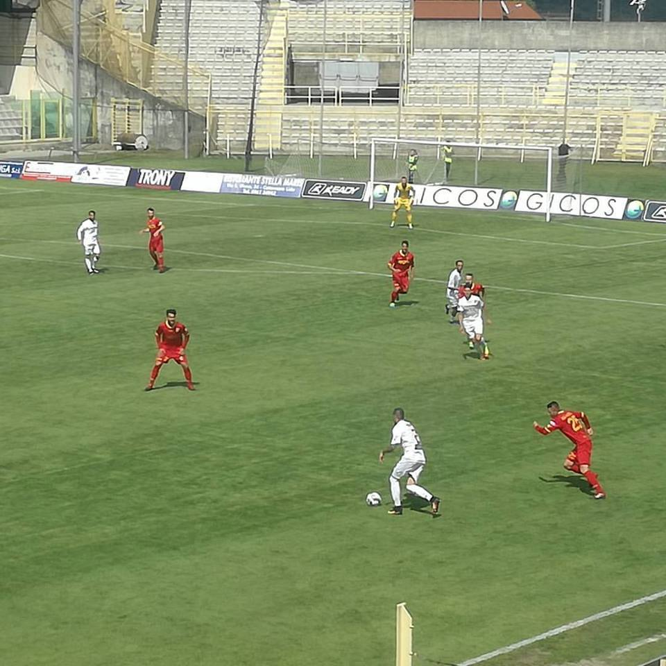 Catanzaro – Casertana ph facebook Casertana