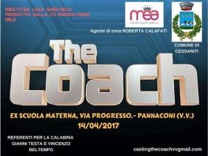 Locandina The Coach Cessaniti