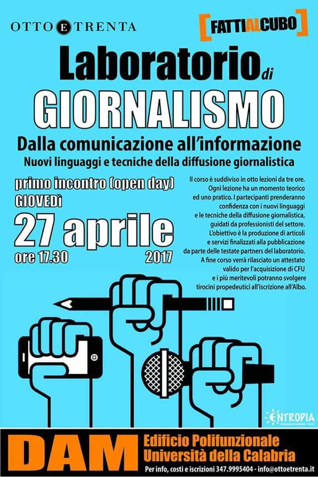 laboratorio giornalismo