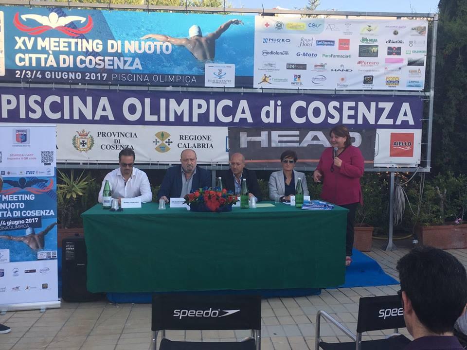 XV Meeting di nuoto Città di Cosenza