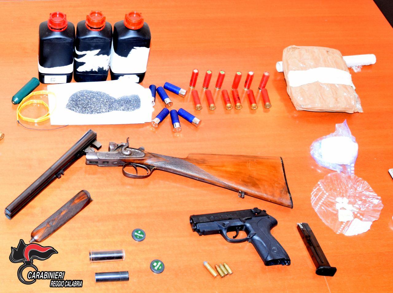 armi, droga, carabinieri