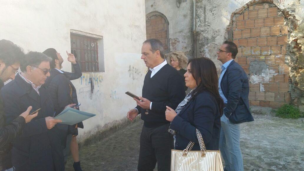 commissione LLPP in via Lungo Crati De Seta