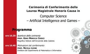 laurea ad honorem Gottlob